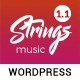 Strings - Music, Band, Artist & Event WordPress Theme - ThemeForest Item for Sale