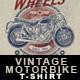 Vintage Motorbike T-Shirt Design - GraphicRiver Item for Sale