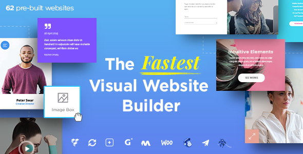 Massive Dynamic - WordPress Website Builder