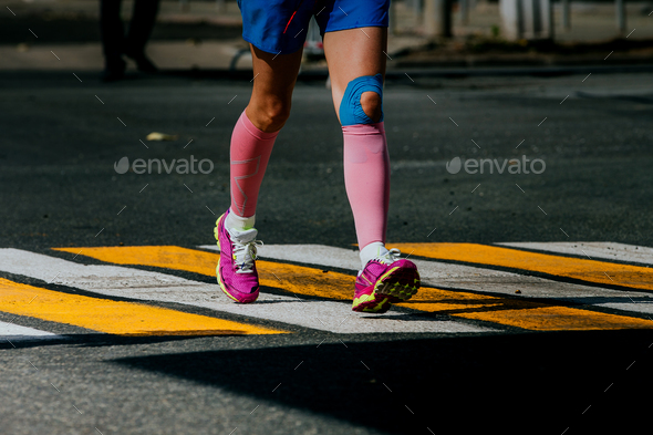 Legs Women Athletes - Stock Photo - Images