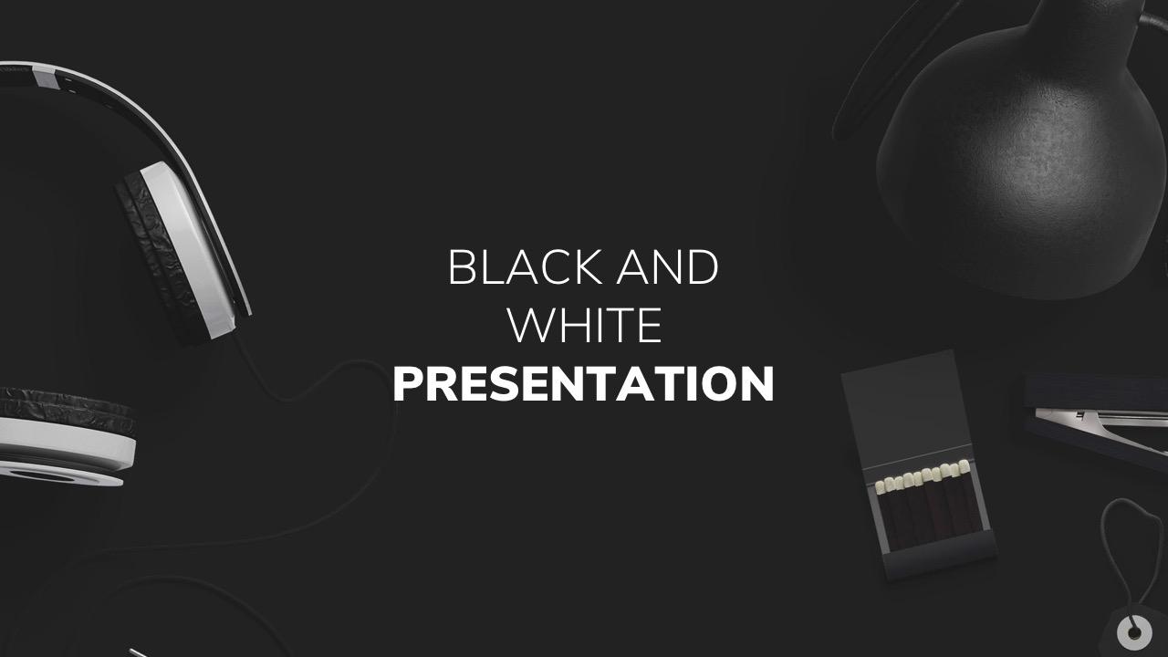 Black and white powerpoint template by twilightslide graphicriver black and white powerpoint template creative powerpoint templates preview image setslide001g toneelgroepblik Choice Image