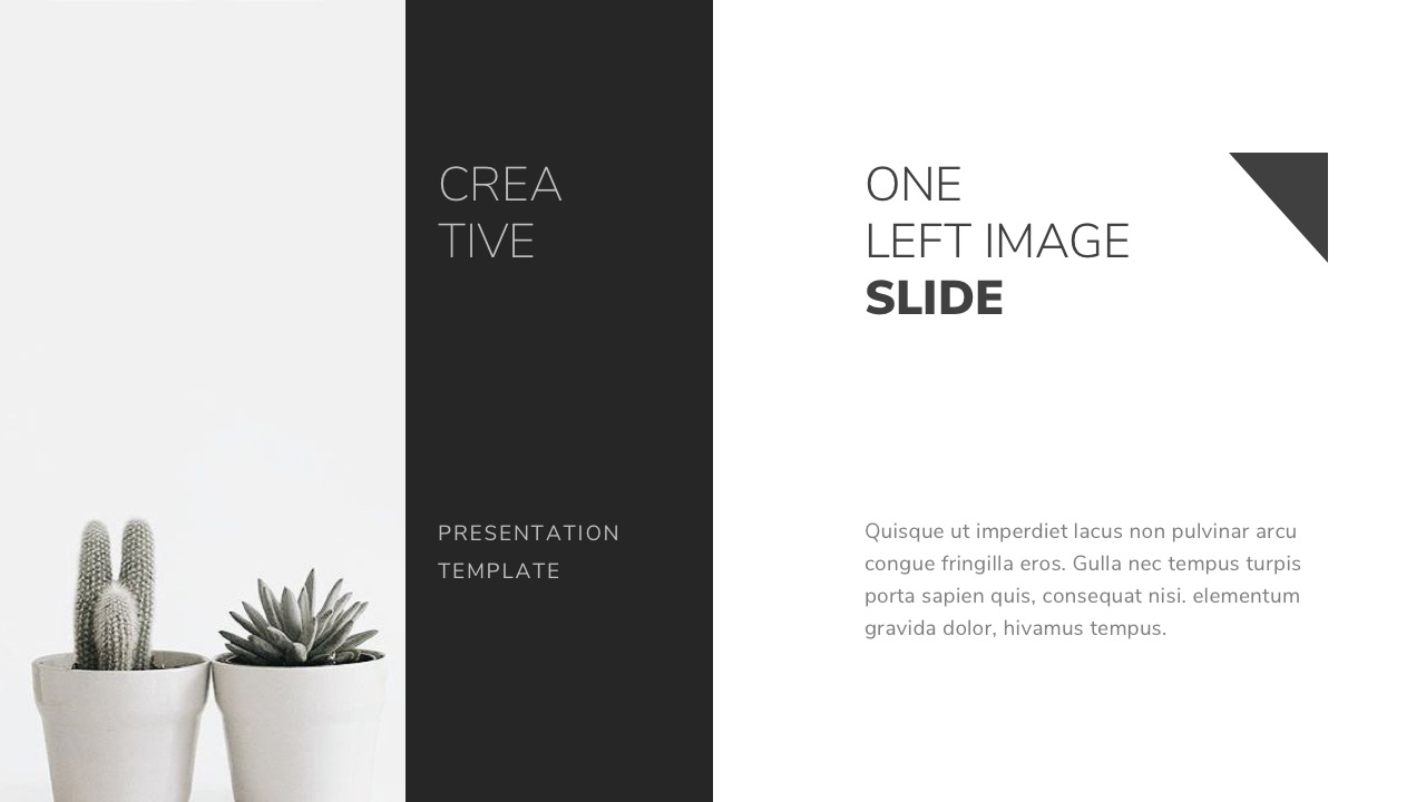 black and white powerpoint template by twilightslide | graphicriver
