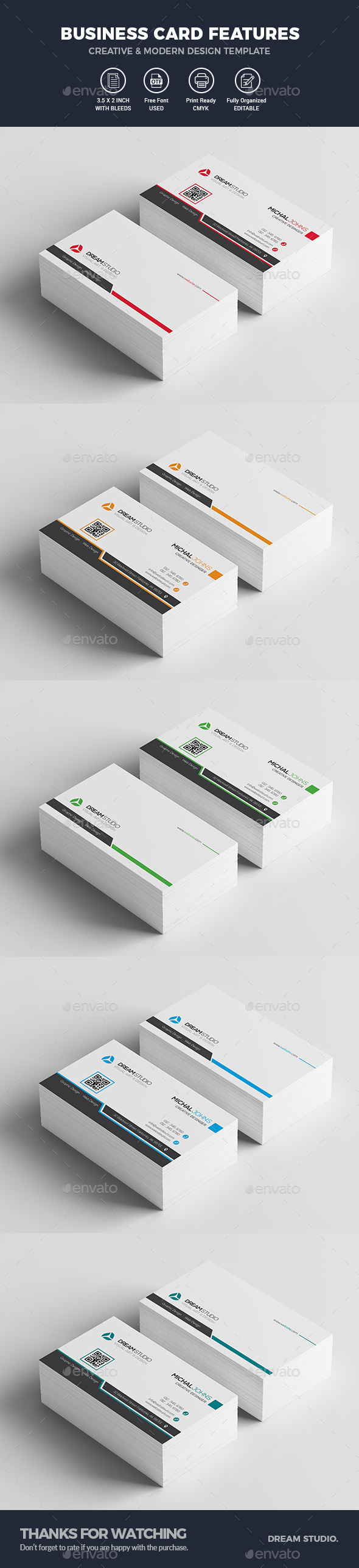 Business Cards - Business Cards Print Templates