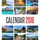 Wall Calendar 2018 V02 - GraphicRiver Item for Sale