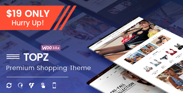 TopZ – Advanced Multipurpose WooCommerce WordPress Theme