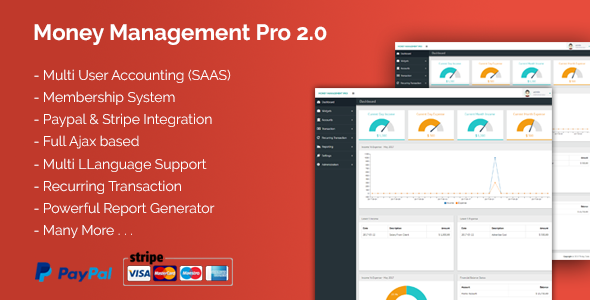 Money Management Pro 2.0 - CodeCanyon Item for Sale