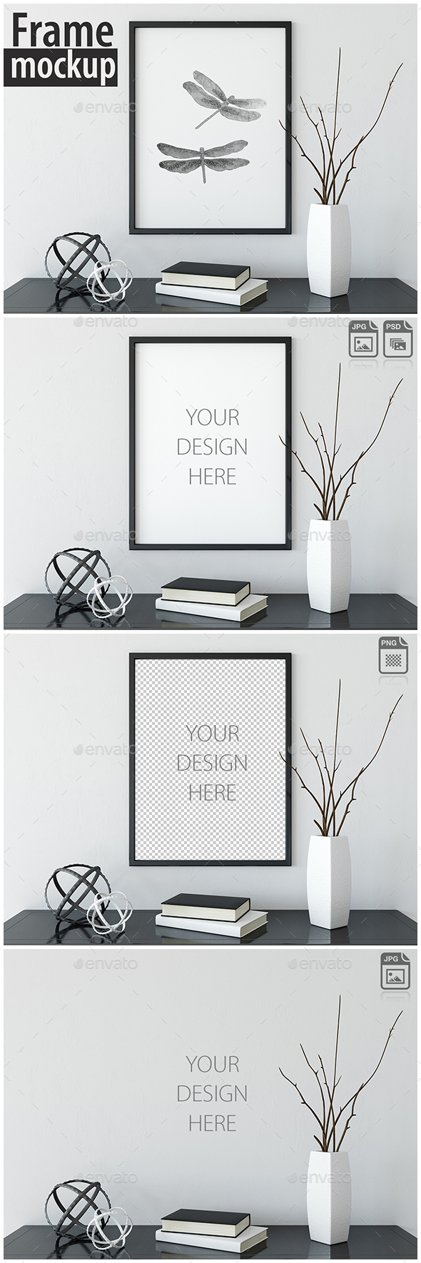 Frame Mockup_02 - Product Mock-Ups Graphics