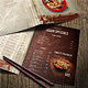 Chinese A4 and US Letter Food Menu - GraphicRiver Item for Sale
