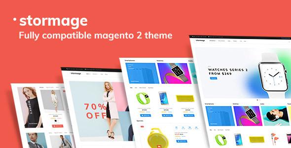 StorMage – Responsive Fashion Store Magento 2x Theme