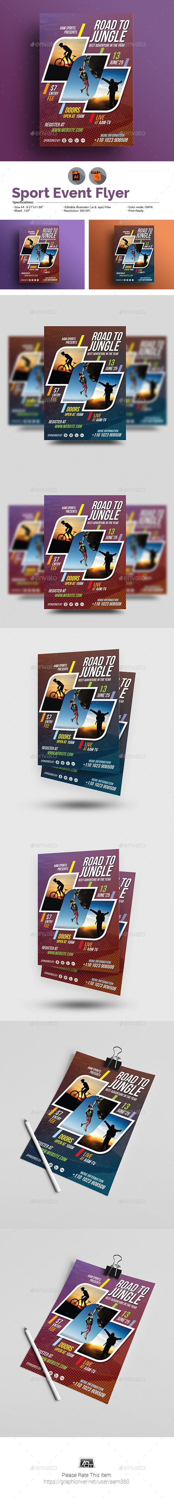 Sport Event Flyer - Sports Events