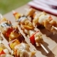 Crispy Cooked Chicken Vegetable Kabobs - VideoHive Item for Sale