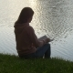 Reading a Book at Dawn - VideoHive Item for Sale
