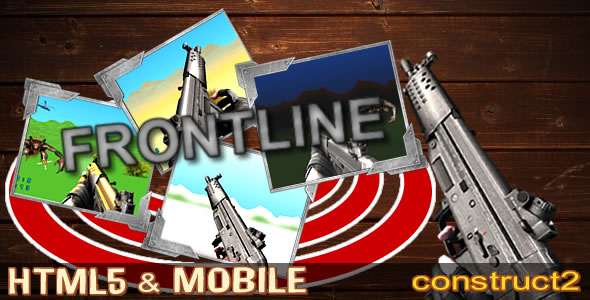 Frontline 3D SHOT – (.capx + html5) - CodeCanyon Item for Sale