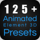 Wow! Dynamic Element 3D Presets - VideoHive Item for Sale