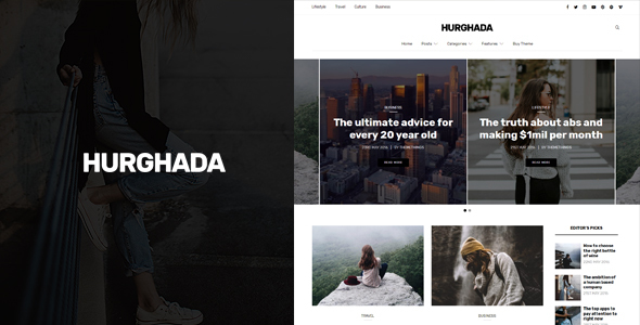 Hurghada – Blog & Magazine WordPress Theme