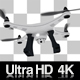 Flying Drone Hovering 4K - VideoHive Item for Sale