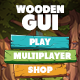 Wooden GUI for Mobile Game - GraphicRiver Item for Sale