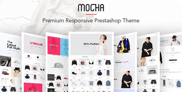 Image of JMS Mocha - Creative Multipurpose Prestashop Theme