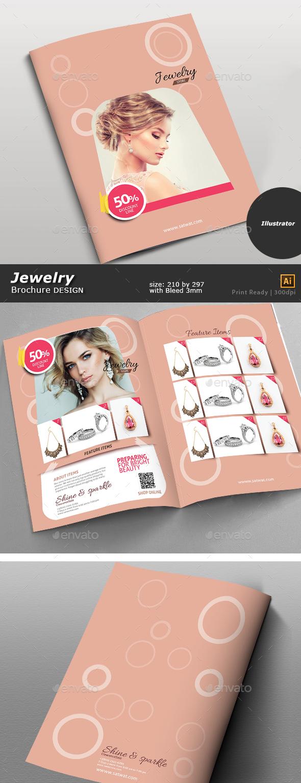 Jewelry Store Bi-Fold - Brochures Print Templates