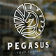 Pegasus Logo - GraphicRiver Item for Sale