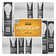 Elliptical Totem Display Mockup - GraphicRiver Item for Sale