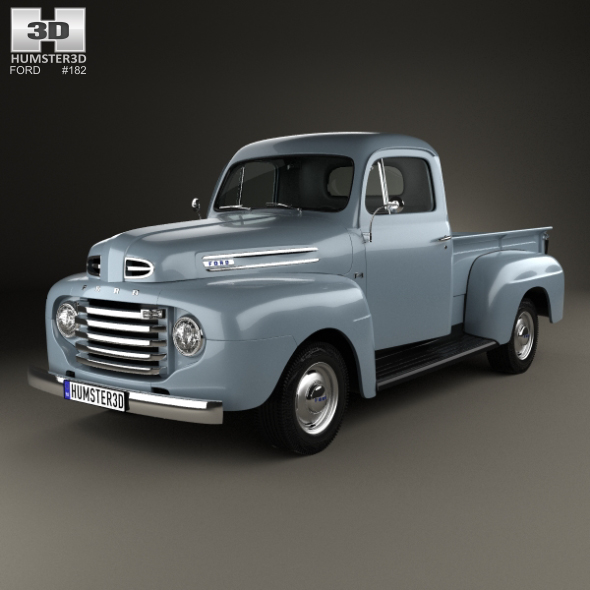 Ford F-1 Pickup 1948 - 3DOcean Item for Sale