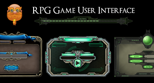 RPG Game User Interface (GUI)