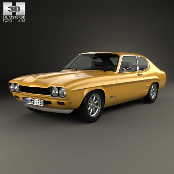 Ford Capri RS 2600 1970 - 3DOcean Item for Sale
