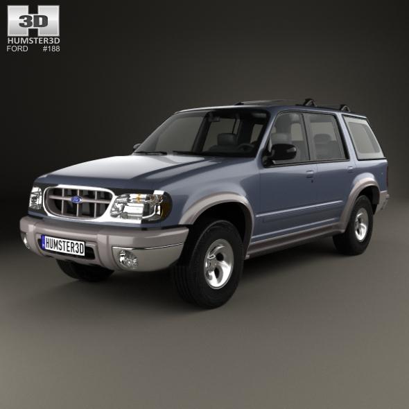 Ford Explorer 1994 - 3DOcean Item for Sale