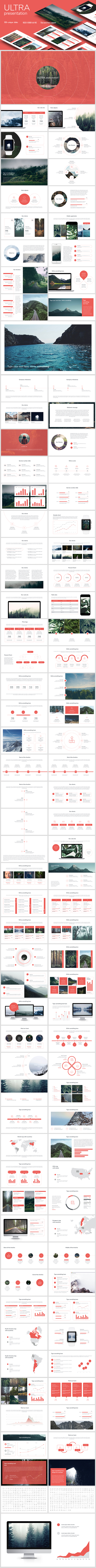 Clean Keynote Template - Keynote Templates Presentation Templates