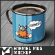 Enamel Mug Mock-Up - GraphicRiver Item for Sale
