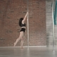 Young Girl Training Pole Dance - VideoHive Item for Sale