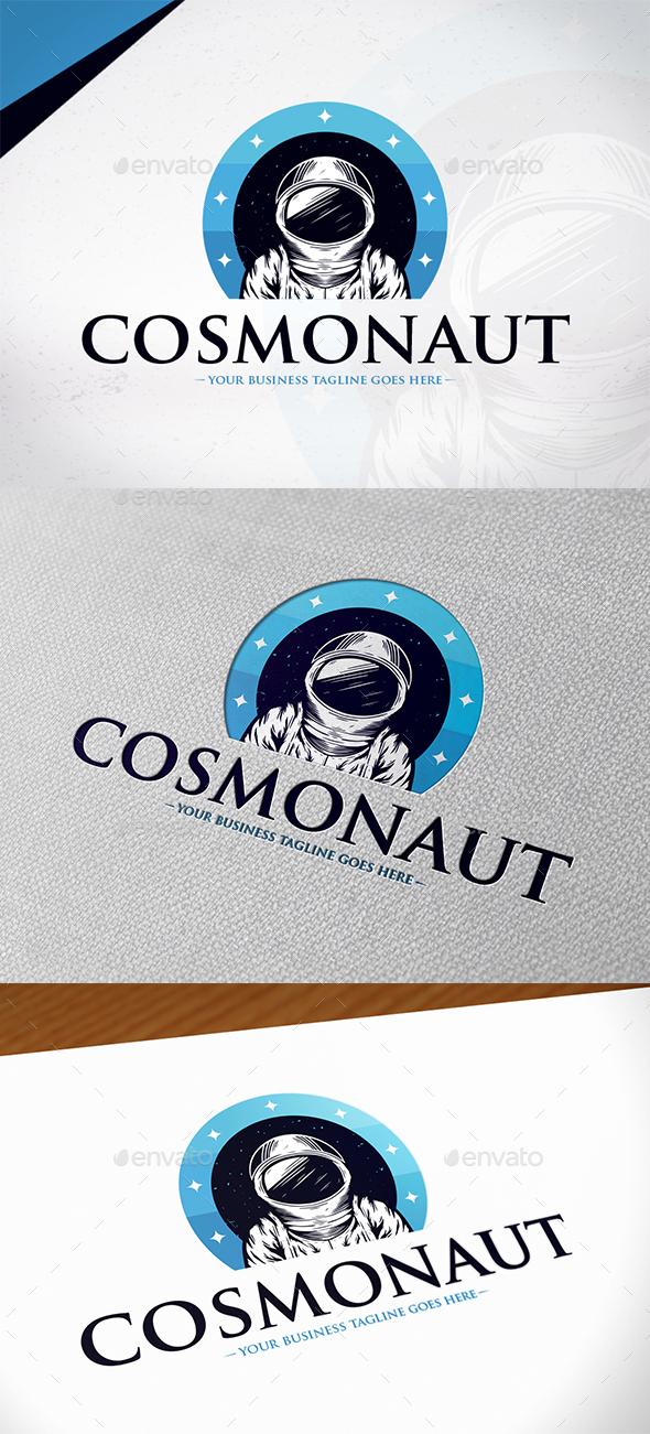 Cosmonaut Logo Template - Humans Logo Templates