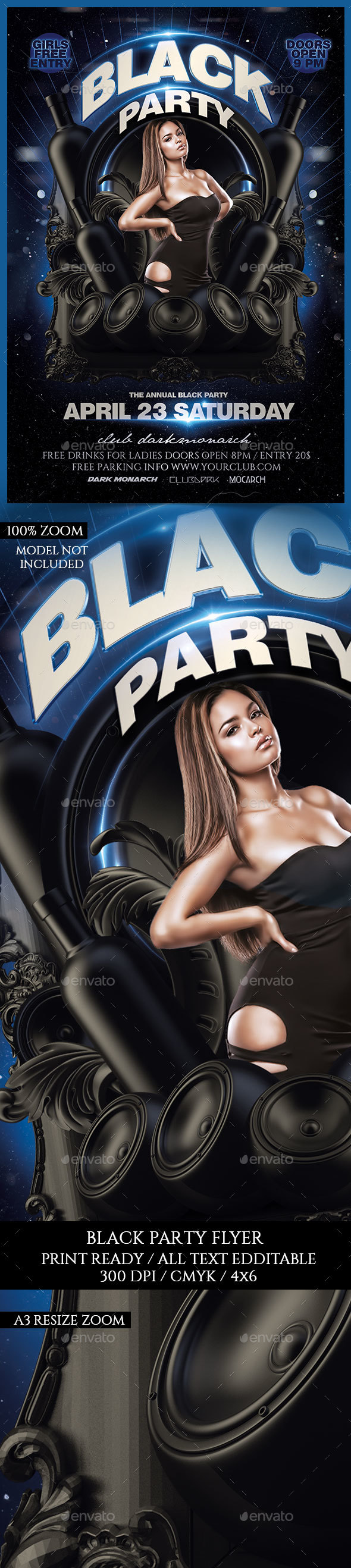 Black Party - Clubs & Parties Events