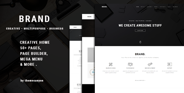 Brand. - Creative Business Template - Creative Joomla