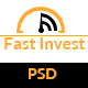Fast Invest Multipurpose Business PSD - ThemeForest Item for Sale
