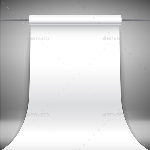 Roll Paper Banner - Backgrounds Decorative