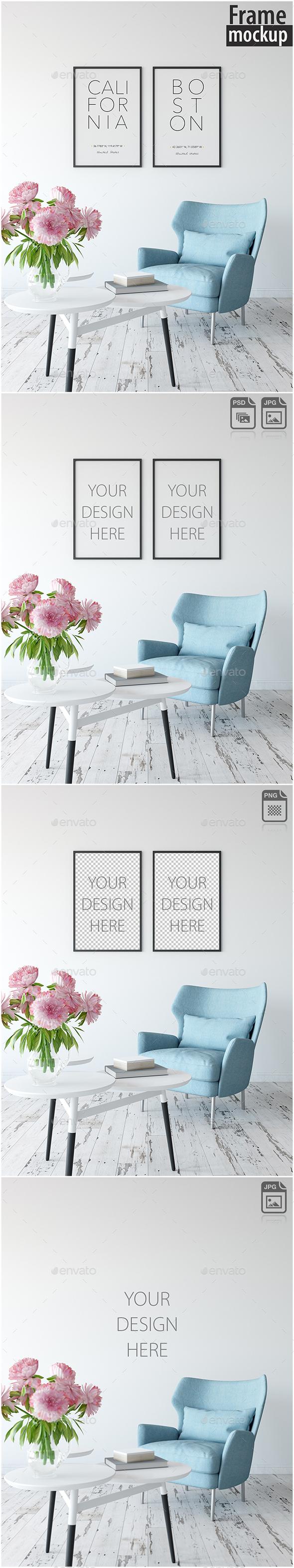Frame Mockup_18 - Posters Print