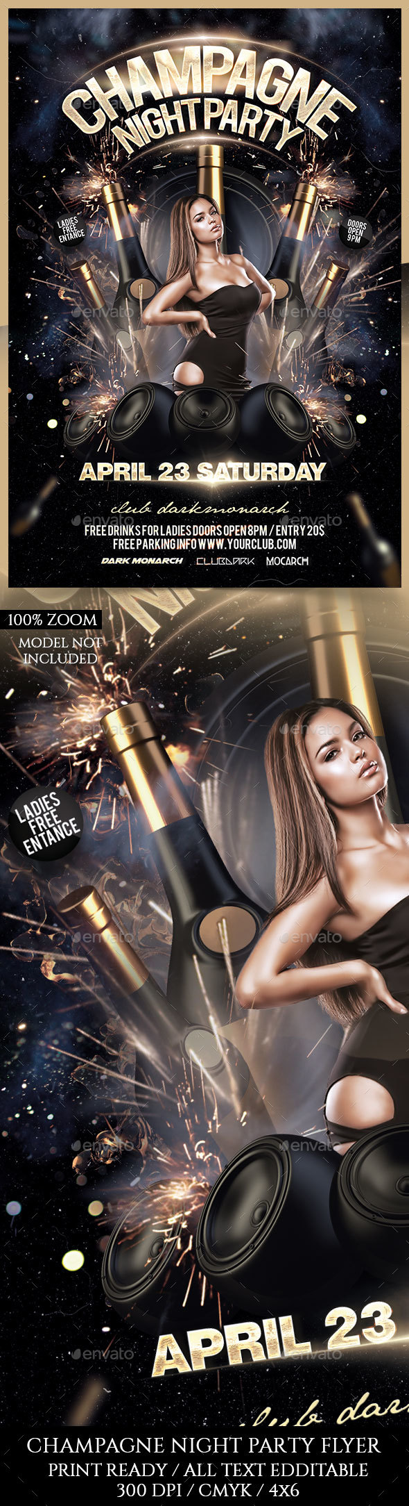 Champagne Night Party - Clubs & Parties Events