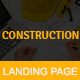 CONSTRUCTION - Multipurpose Responsive HTML Landing Page - ThemeForest Item for Sale