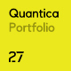 Quantica -  Creative Portfolio WordPress Theme Nulled