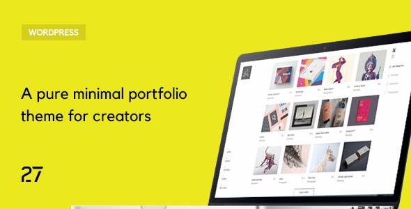 Quantica -  Creative Portfolio WordPress Theme