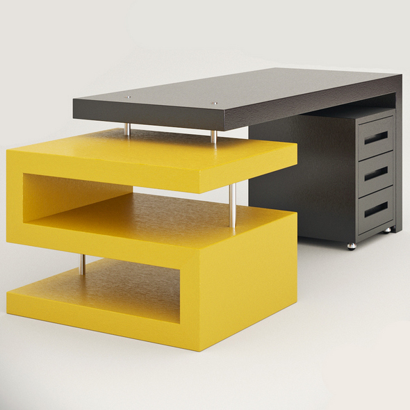 "Office table ""Maini"" - 3DOcean Item for Sale"