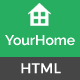 YourHome - Property and Real Estate HTML Template Nulled