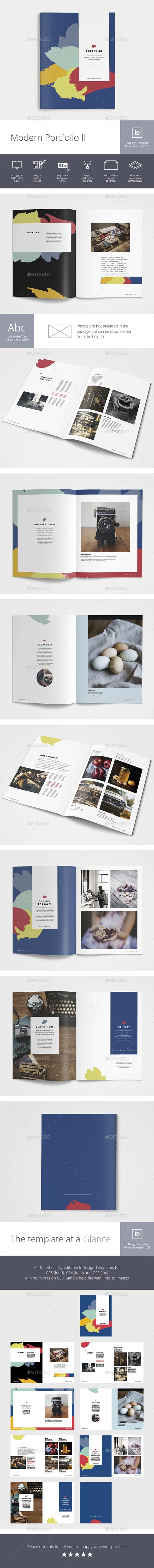 Modern Portfolio II - Portfolio Brochures