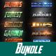 40 Mix Bundle Text Effect Styles - GraphicRiver Item for Sale