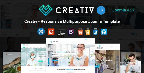 Creativ - Responsive Multipurpose Joomla Template