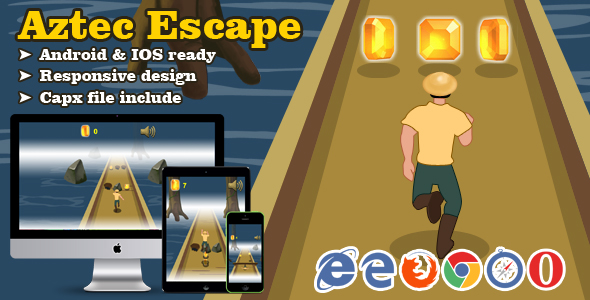 Aztec Escape - CodeCanyon Item for Sale