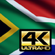 Flag 4K South Africa On Realistic Highly Detailed Fabric - VideoHive Item for Sale