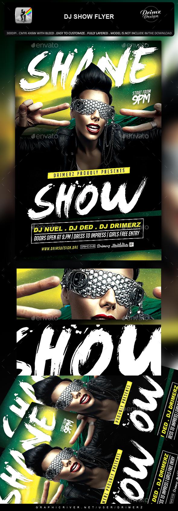 DJ Show Flyer - Events Flyers